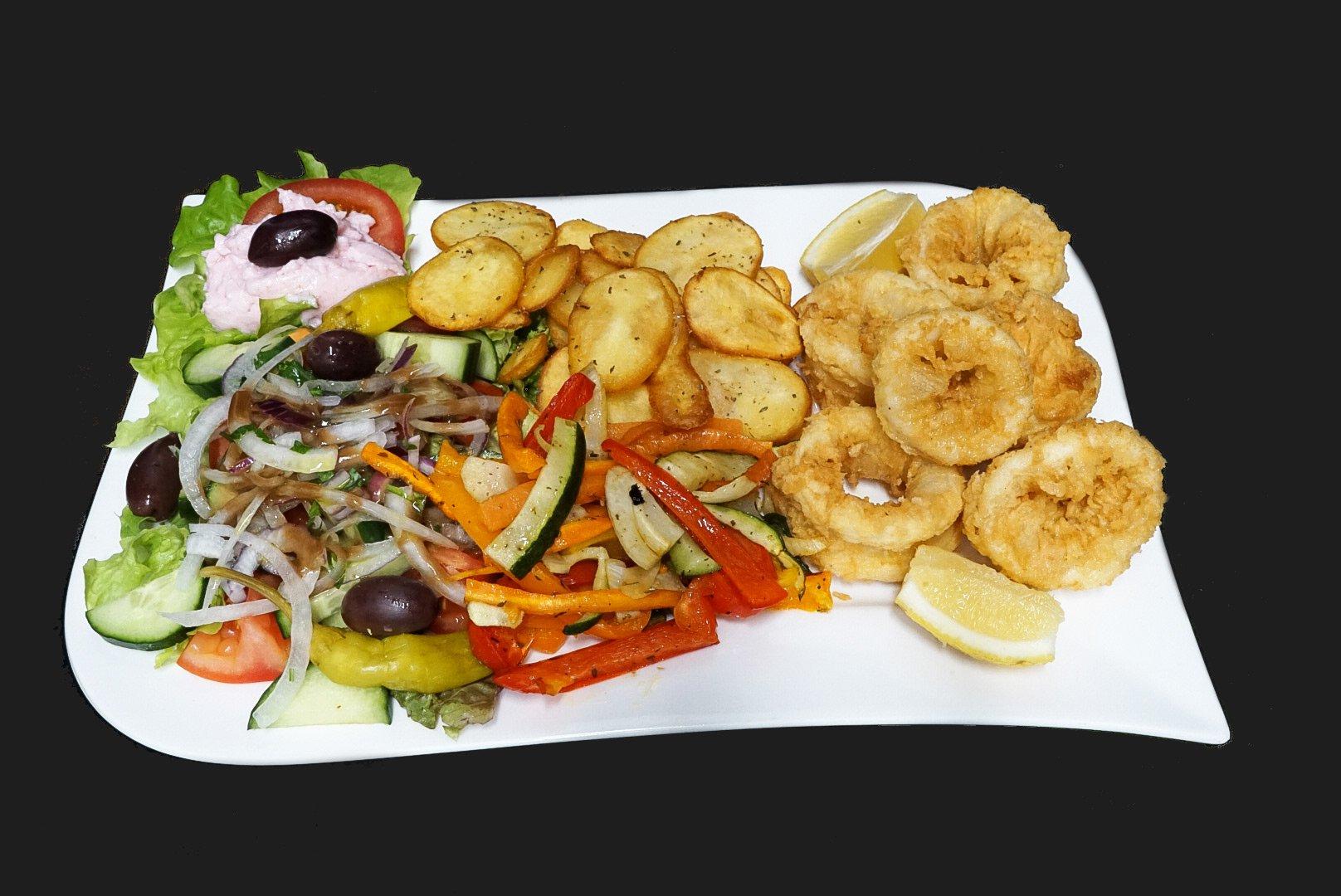 Restaurant Halde Ulm-Gögglingen - Calamari