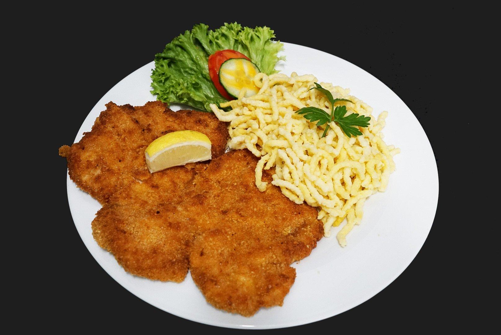 Restaurant Halde Ulm-Gögglingen - Schnitzel